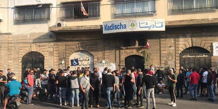 ادامه تحصن لبنانی ها و اعتصاب در برخی بیمارستان ها