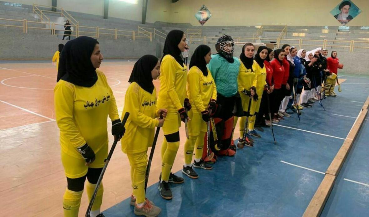 آغاز مسابقات لیگ برتر هاکی بانوان باشگاه های ایران در بهنمیر