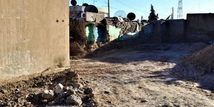 ترکیه منازل اهالی چند روستای سوری را ویران کرد